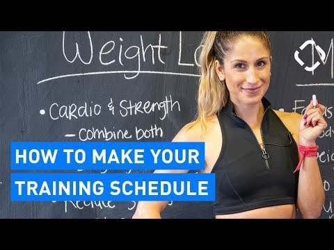How to Create Your Training Schedule (For Beginners)