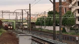 名鉄3150系 3158f+名鉄3500系未更新 3502f(急行岐阜行き)神宮前駅 入線‼️