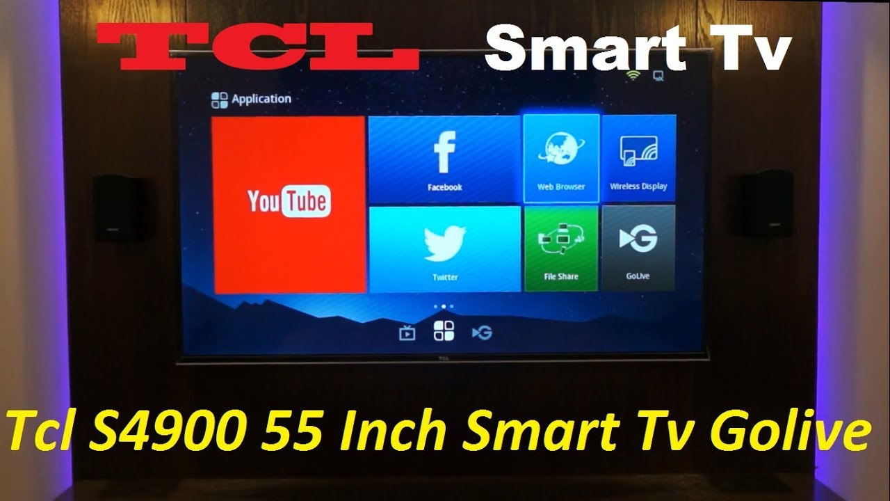 TCL S4900 55 Inch Smart TV With Golive And Wifi Display Review