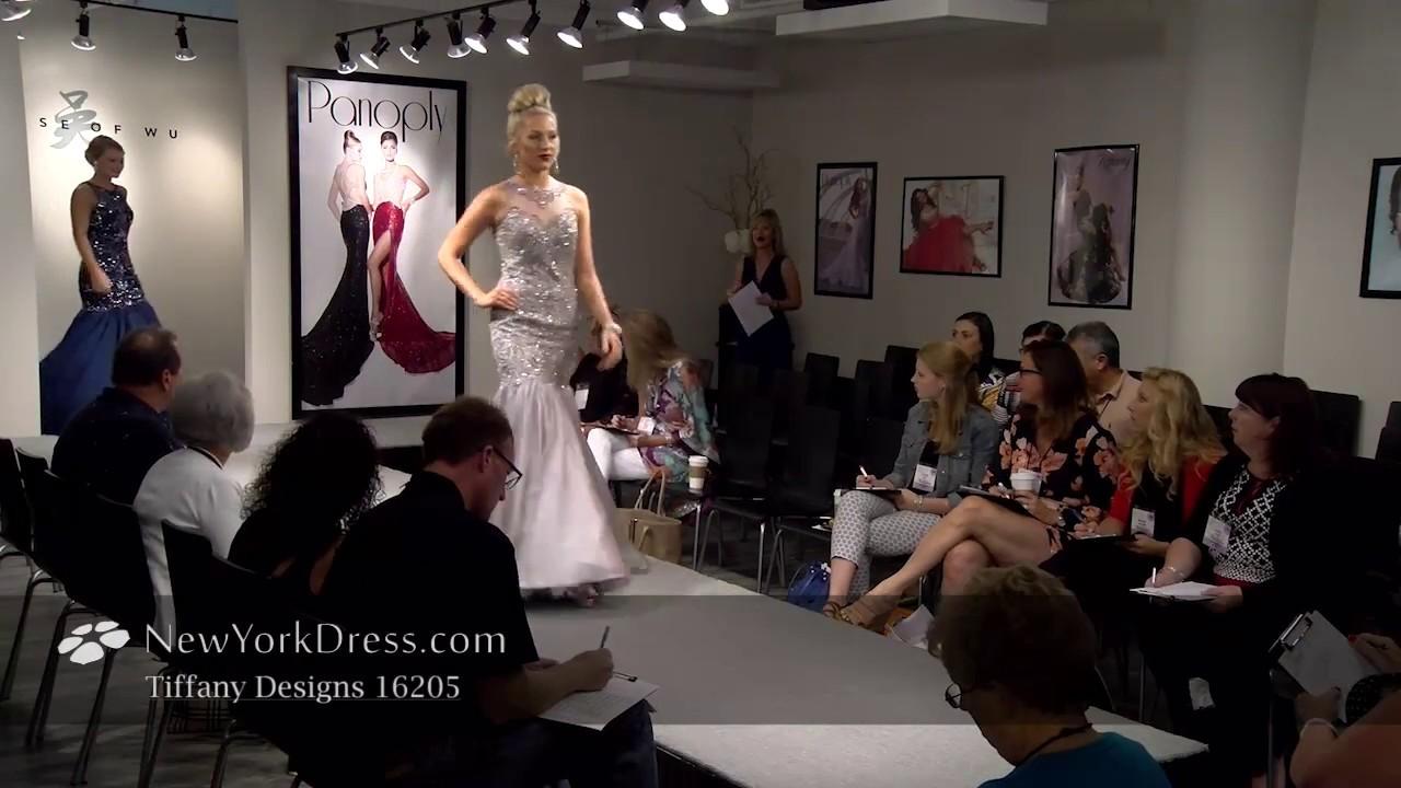 Tiffany 16205 Dress - NewYorkDress.com