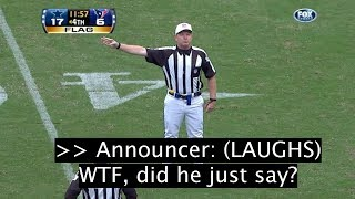 "17 SHOCKING NFL Referee ""Hot Mic'd"" Moments YOU WEREN'T SUPPOSED TO HEAR!"