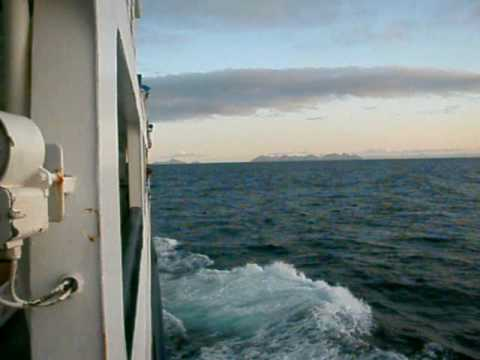 Alaska Marine Highway - Sunrise from the Tustumenta En Route to Homer
