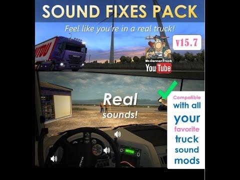 [ETS2 v1.24] SOUND FIXES PACK v15.7 for ETS2 + ATS