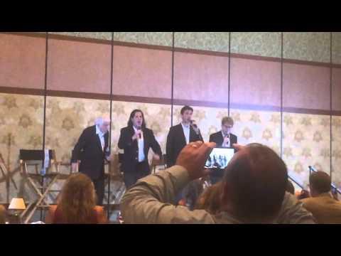 Dick Van Dyke and the Vantastix at Legends Events - July 2015