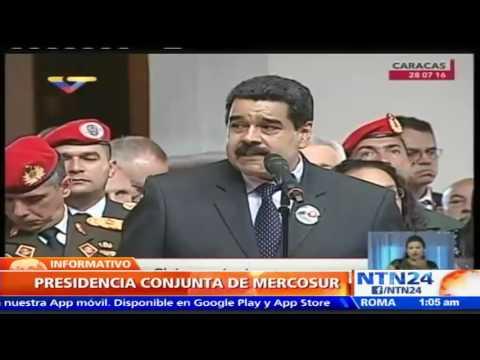 Delcy Rodríguez publica carta entregando presidencia del Mercosur a Argentina