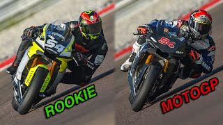 ROOKIE RIDER VS MOTOGP RIDER: WHAT'S DIFFERENT? Naska VS Jonas Folger @ Cremona - Yamaha R1