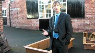Childrens - Kids | Recycled Plastic Raised Bed With Seating