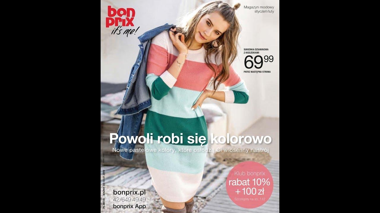 cc9b7aa95f Bonprix katalog styczeń 2019 - Happy New Pastels    moda damska ...