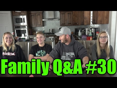 Family Q&A on Friday #30 January 1st 2016