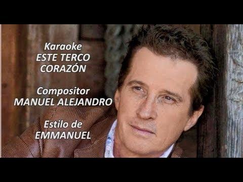 Mi Karaoke - Este Terco Corazón - Emmanuel