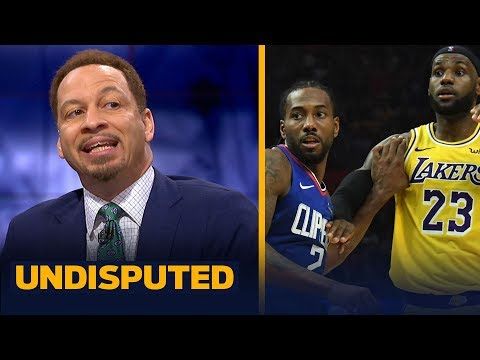 Lakers and Clippers are 'head and shoulders above everybody else'  Broussard   NBA   UNDISPUTED