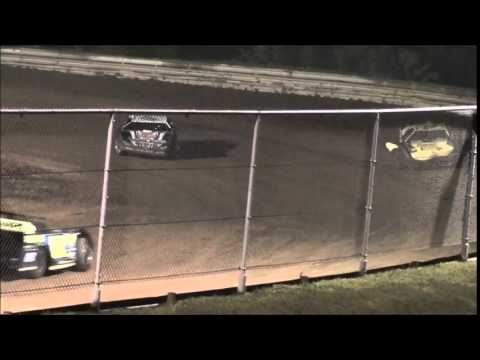 Super Late Model Feature from Ohio Valley Speedway 8/9/14.
