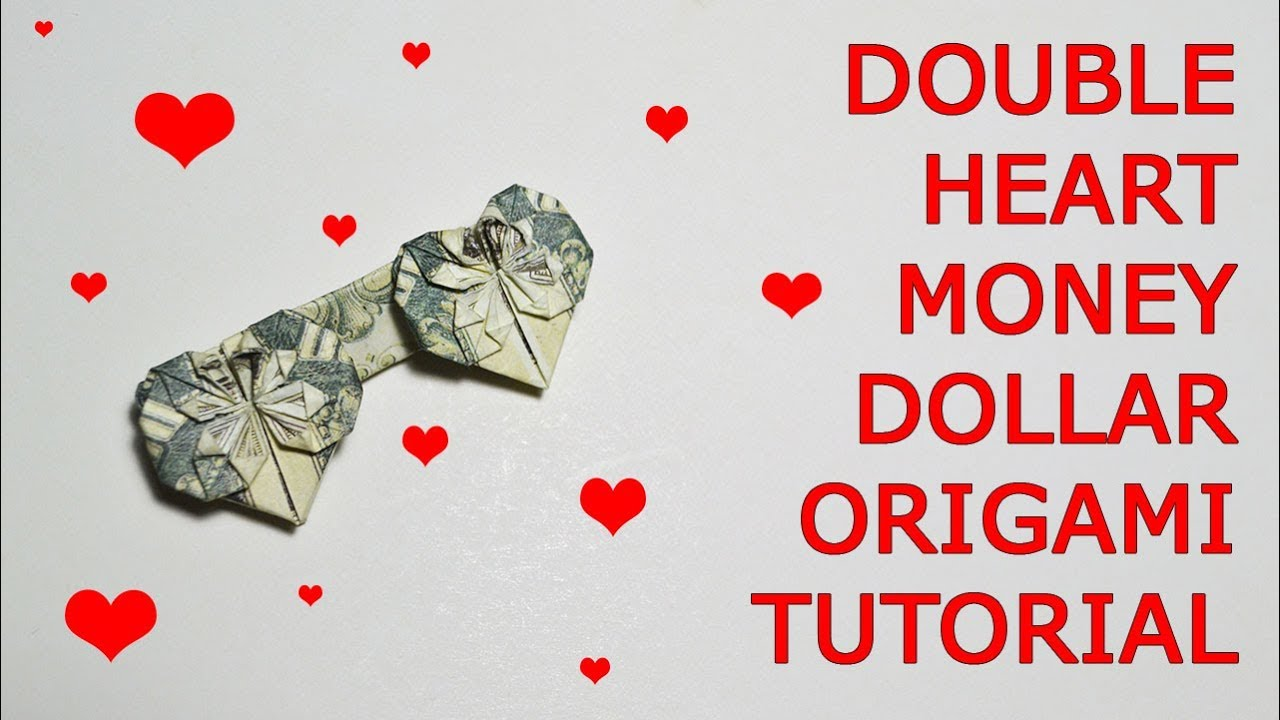 Super Easy Dollar Bill Heart | 720x1280