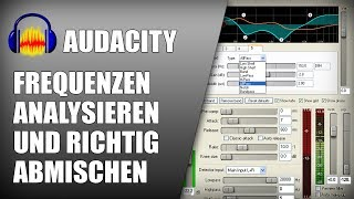 Mit Equalizer und Auto Ducking in Audacity Stimme richtig abmischen | Audio Tutorial Deutsch German thumbnail