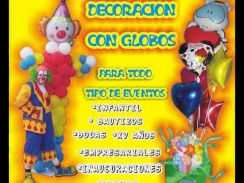 Payaso Pochito Decoraci N Con Globos Youtube