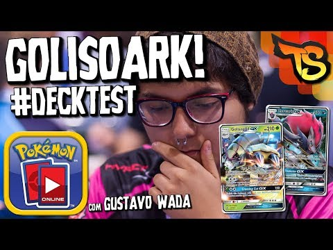 ✪ Pokémon TCG - GolisoArk Deck! (com Gustavo Wada) #DECKTEST