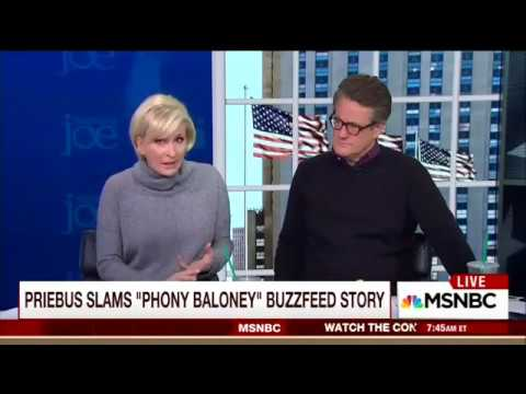 Mika Accuses CNN/Buzzfeed of 'Bias' In Running Trump-Russia Story