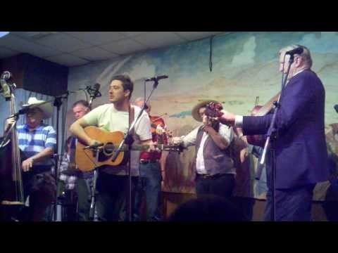 Angel Band performed by Marcus Mumford, Ross Holmes, T-Bone Burnett, and the Byron Berline Band
