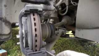 установка передних тормозных колодок на Opel Mokka своими руками
