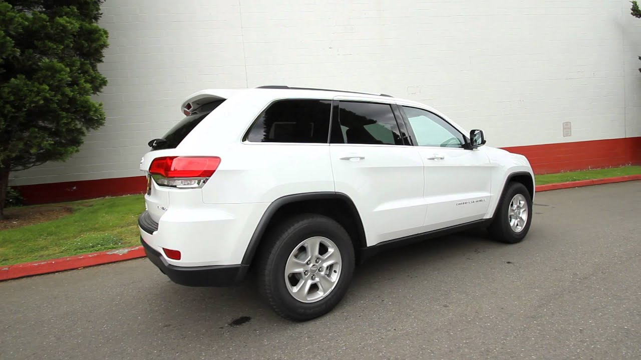 2014 Jeep Grand Cherokee Laredo White Stk Ec177482