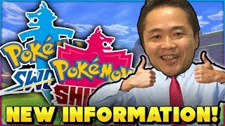 POKEMON SWORD AND SHIELD WILL HAVE MORE NEW POKEMON THAN PREVIOUS GENERATIONS? New Interview & More!