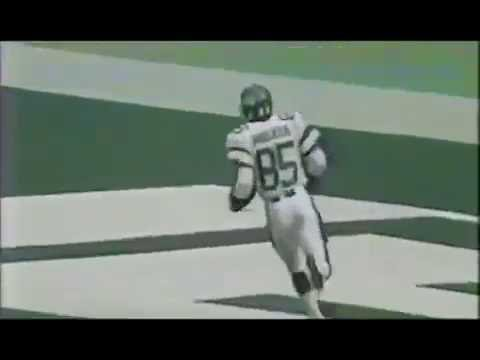 Wesley Walker Four Touchdowns - Dolphins at Jets - NFL Week 3 1986