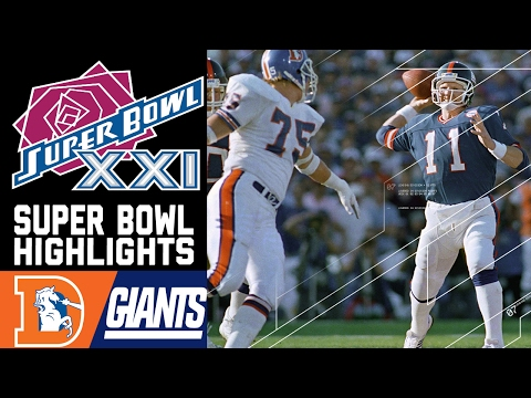 Super Bowl XXI: Broncos vs. Giants | NFL