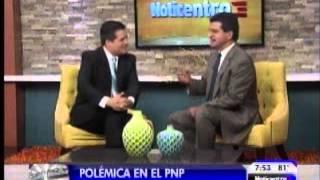 "Pedro Pierluisi le da una rabieta cuando Normando Valentín le grita ""Ricky! Ricky!"""