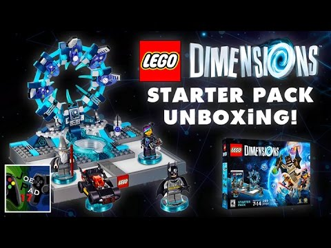 UNBOXING E PRIMO GAMEPLAY! - LEGO DIMENSIONS #1 (ITA) (HD)