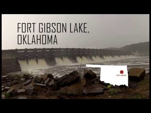 Aerial Tour - USACE PUA sites at Fort Gibson Lake