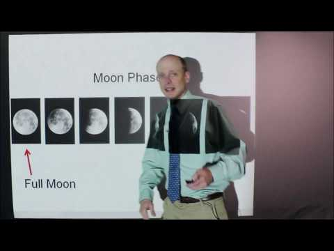 Earth Science Review: The Moon Part 2: Moon Phases