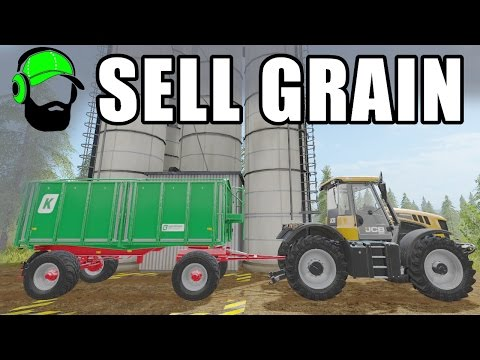 Farming Simulator 17 Courseplay Tutorial - How to use grain transport mode