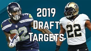 2019 Fantasy Football - Running Back Draft Targets