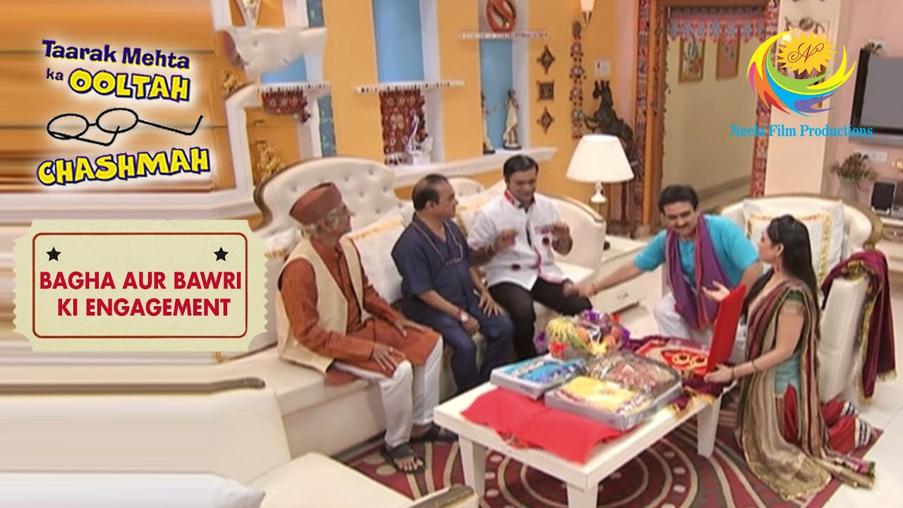 Gada Family Assures Bagha & Natu Kaka |Taarak Mehta Ka Ooltah Chashmah|Bagha Aur Bawri Ki Engagement