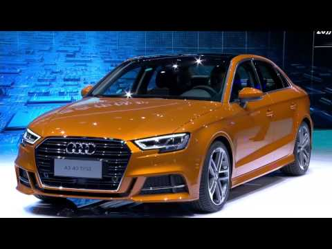 Audi press conference at the Auto Shanghai 2017 - Unravel Travel TV