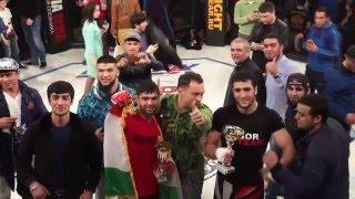 Родион Гор. Хамид Давлятов vs Иван Чебурдых (- 93 кг ММА бой)