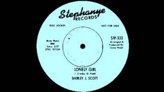 Lonely Girl-Shirley J Scott-  1966 Stephanye 333