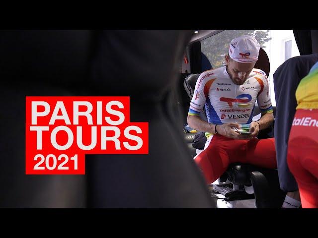 21.10.10 En immersion avec le Team TotalEnergies -  Paris-Tours