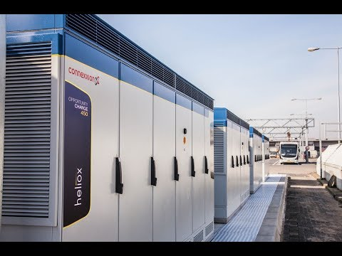 Heliox powers WORLD's largest opportunity and and depot charge network In Amsterdam Airport Schiphol