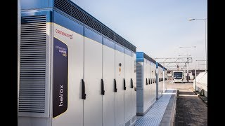 Heliox powers WORLD's largest opportunity and and depot charge network In Amsterdam Airport Schiphol thumbnail
