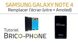 Tutoriel Samsung Galaxy Note 4 : remplacer l
