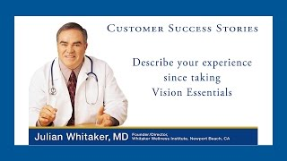 VIDEO: The Benefits of Supplements for Vision Health | drwhitaker.coms