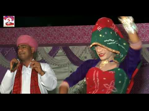 Rajsthani Mulchand Chodhri ki Aawaj me mama Bhanja And Comedy Part-1 (Live performance)2018