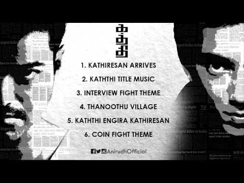 Kaththi | BGM Jukebox | 100 Days Celebration | Anirudh