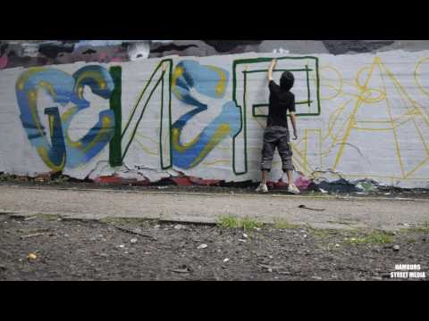 Graffiti Hamburg: Flora Park Session with GENER