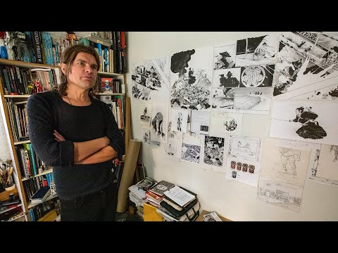 Studio Visits: Comic Artists on LONE WOLF AND CUB