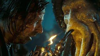 """Первое появление Дэйви Джонса - """"Пираты Карибского моря: Сундук мертвеца"""""""