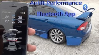 Airlift Performance Bluetooth App + Firmware updates Part 4 | 2011 Honda civic Si