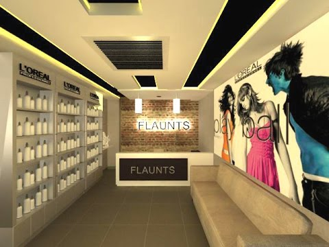 Beauty Salon Interior Design - Flaunts Spa & Salon - Jammu