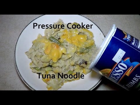 Pressure Cooker Tuna Noodle Casserole Cuisinart